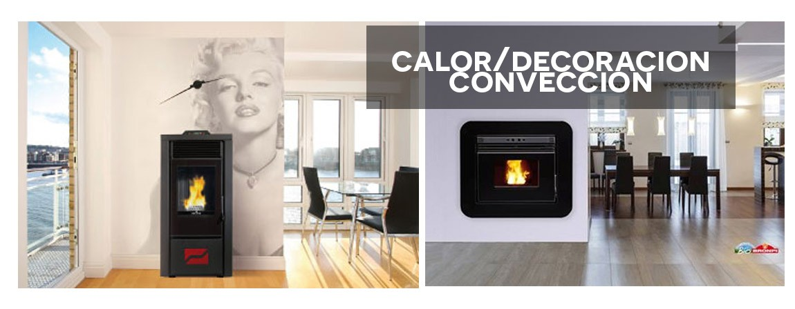 Calor/decoracion conveccion